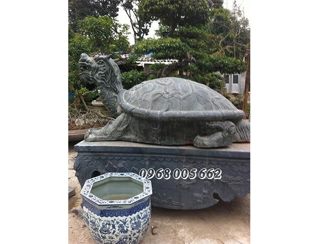 Rùa đá phong thủy biểu tượng của sự trường thọ, cát tường.