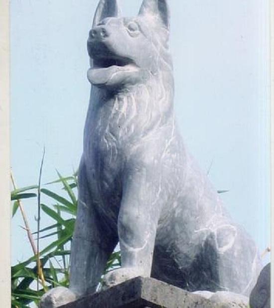 Tượng chó đá ngày nay được điêu khắc chân thật, sinh động hơn rất nhiều
