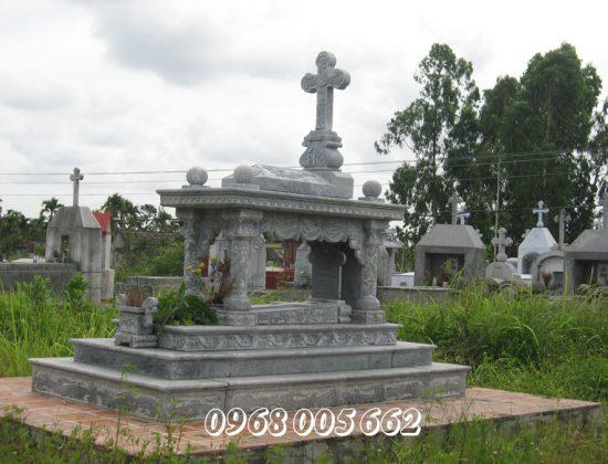 Biểu tượng thánh giá là điểm phân biệt giữa mộ công giáo và các mộ khác