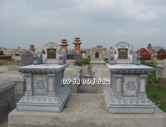 Vị trí đặt mộ đá đôi ảnh hưởng nhiều tới đời sống của người còn sống