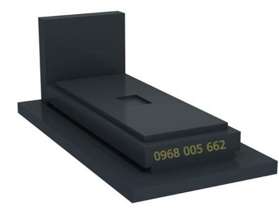 mẫu mộ đá hoa cương đen thông dụng nhất hiện nay