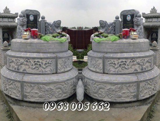 Mộ đá tròn là mẫu mộ đá truyền thống của người Việt Nam