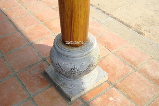 Chân tảng đá, đá kê chân cột có vai trò gì trong kiến trúc công trình?