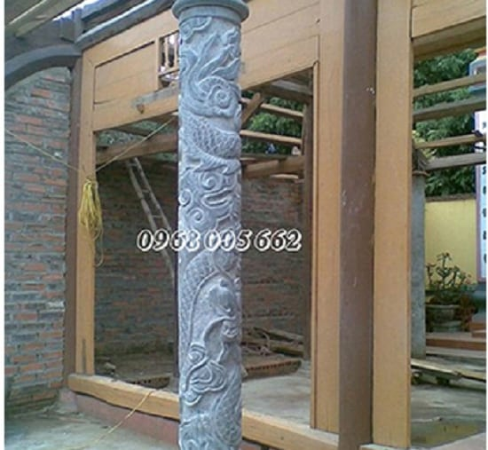 Cột đá-cấu tạo và kích thước chuẩn phong thủy