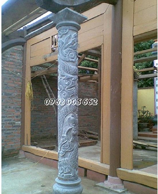 Cột đá tự nhiên có cấu tạo 3 phần chính