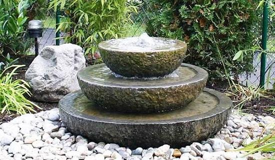 Mẫu đài phun nước bằng đá tự nhiên