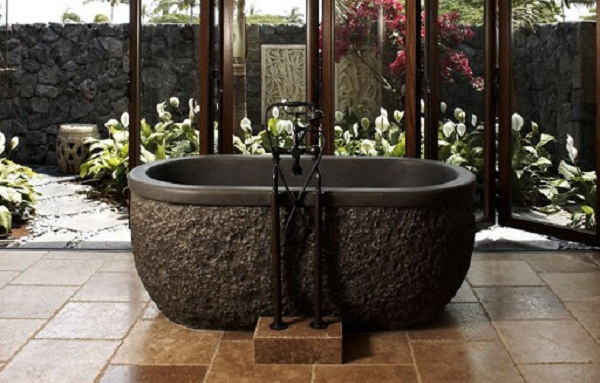 Tượng đá Xuân Mạnh là đơn vị chế tác bồn tắm đá tự nhiên uy tín chất lượng