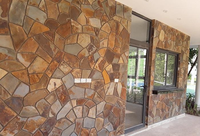 Đặc điểm của đá ốp tường tự nhiên hiện nay